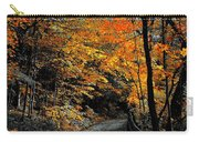 Walk In Golden Fall Carry-all Pouch