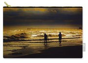 Walk In The Surf Colored Carry-all Pouch