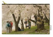Walking Along The Tidal Basin Carry-all Pouch