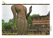 Walking Buddha Image In Wat Sa Si In Sukhothai Historical Park-t Carry-all Pouch