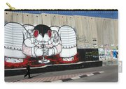 Walking By The Wall Carry-all Pouch