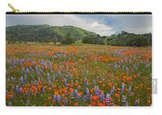 Walking In The Wildflowers Carry-all Pouch