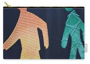 Walking Man Symbol Carry-all Pouch