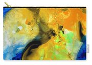 Walking On Sunshine - Abstract Painting By Sharon Cummings Carry-all Pouch