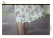 Walking On The Street Carry-all Pouch by Joana Kruse