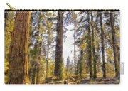 Walking Small In The Tall Forest Carry-all Pouch