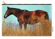 Walking Tall Carry-all Pouch by Karen Wiles