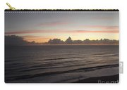 Walking The Beach At Sunrise Carry-all Pouch
