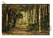 Walking The Bluff Artistic Carry-all Pouch