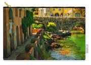 Walkway Along The River - Cascais Carry-all Pouch