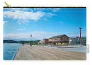 Walkway Along The Yukon River In Whitehorse-yk  Carry-all Pouch