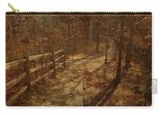 Walkway Through The Forest Carry-all Pouch