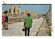 Walkway To Harbor In Ephesus-turkey Carry-all Pouch