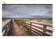 Walkway To The Beach At Romar Access Carry-all Pouch