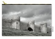 Wall Against Clouds Carry-all Pouch