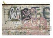 Wall Art Graffiti Concrete Walls Casa Grande Arizona 2004 Carry-all Pouch