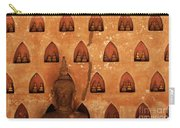 Wall Of Buddhas Carry-all Pouch