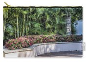 Wall Of Flowers Carry-all Pouch