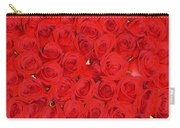 Wall Of Red Roses Carry-all Pouch