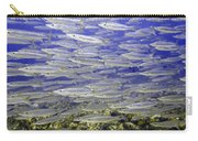 Wall Of Silver Fish Carry-all Pouch