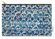 Wall Of Skulls Carry-all Pouch