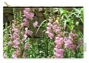 Wall Of Snapdragons Carry-all Pouch