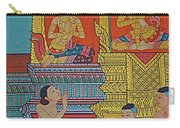 Wall Painting 2 In Wat Po In Bangkok-thailand Carry-all Pouch