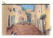 Wall Painting In Provence Carry-all Pouch
