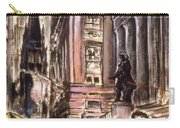 New York Wall Street - Fine Art Carry-all Pouch