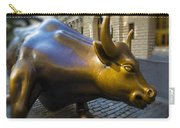 Wall Street Bull Market Carry-all Pouch