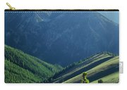 1m5903-wallowa Mountains And Valley Of The East Fork Carry-all Pouch