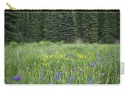 Wallowa Wildflowers Carry-all Pouch