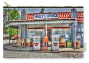 Wally's Service Station Carry-all Pouch by Dan Stone