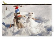 Wally's Winter Friend Carry-all Pouch