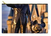 Walt And Mickey Carry-all Pouch