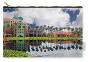 Walt Disney World Swan Hotel  Carry-all Pouch