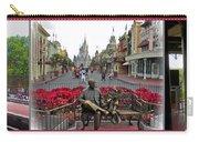 Walt Disney World Transportation 3 Panel Composite 02 Carry-all Pouch