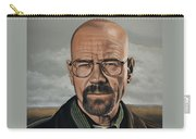 Walter White Carry-all Pouch by Paul Meijering