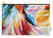 Waltz - Palette Knife Oil Painting On Canvas By Leonid Afremov Carry-all Pouch