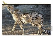 Wandering Cheetah Carry-all Pouch