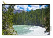 Wapta Falls In Yoho Np-bc  Carry-all Pouch