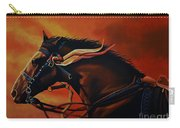 War Horse Joey  Carry-all Pouch by Paul Meijering