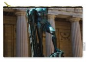 War Memorial Statue Youth In Nashville Carry-all Pouch
