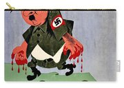 War Poster - Ww2 - Out With The Fuhrer Carry-all Pouch