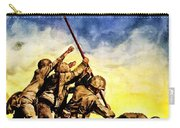 War Poster - Ww2 - Iwo Jima Carry-all Pouch