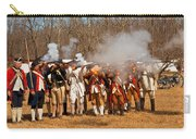 War - Revolutionary War - The Musket Drill Carry-all Pouch by Mike Savad