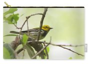 Warbler - Black-throated Green  Carry-all Pouch