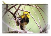 Warbler - Black-throated Green Warbler Carry-all Pouch