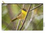 Warbler In Sunlight Carry-all Pouch