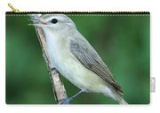 Warbling Vireo Singing Carry-all Pouch